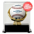 Display Cases, Baseball: Boston Red Sox Single Ball Gold Glove Display Case