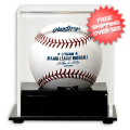 Display Cases, Baseball: Chicago Cubs Single Ball Deluxe Display Case