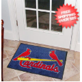 Home Accessories, Bed and Bath: St Louis Cardinals Bedroom Floor Mat