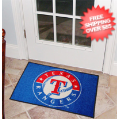Home Accessories, Bed and Bath: Texas Rangers Bedroom Floor Mat