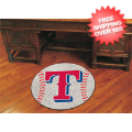 Home Accessories, Game Room: Texas Rangers Baseball Floor Mat
