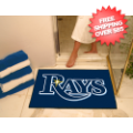 Home Accessories, Bed and Bath: Tampa Bay Rays Shower Rug