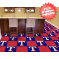 Home Accessories, Game Room: Texas Rangers Carpet Tiles