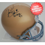 Tim Brown Notre Dame Fighting Irish Autographed Full Size Replica Helmet
