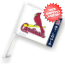 St Louis Cardinals Car Flag