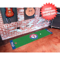 Home Accessories, Game Room: Texas Rangers Golf Putting Green Mat
