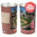 Home Accessories, Bed and Bath: St Louis Cardinals Waste Basket