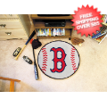Home Accessories, Game Room: Boston Red Sox Baseball Floor Mat