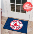 Home Accessories, Bed and Bath: Boston Red Sox Bedroom Floor Mat