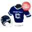 Connecticut Huskies NCAA Youth Uniform Set Halloween Costume