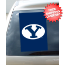 Brigham Young Cougars Car Window Flag