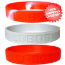 New Mexico Lobos Rubber Wristbands 3 Pack