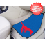 Southern Methodist (SMU) Mustangs Car Mats 2 Piece
