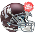 Helmets, Full Size Helmet: Texas A&M Aggies Authentic College XP Football Helmet Schutt <B>Matte Maroo...