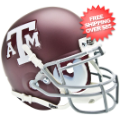 Helmets, Mini Helmets: Texas A&M Aggies Mini XP Authentic Helmet Schutt <B>Matte Maroon</B>