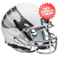 Oregon Ducks Mini XP Authentic Helmet Schutt <B>White Vapor</B>