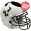 South Florida Bulls Miniature Football Helmet Desk Caddy <B>White</B>