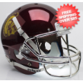 Helmets, Full Size Helmet: USC Trojans Full XP Replica Football Helmet Schutt <B>Chrome</B>