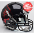 Helmets, Full Size Helmet: Louisville Cardinals Full XP Replica Football Helmet Schutt <B>Black</B>
