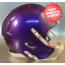 Mini Speed Football Helmet SHELL Purple Metallic