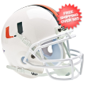 Helmets, Mini Helmets: Miami Hurricanes Mini XP Authentic Helmet Schutt