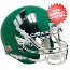 North Texas Mean Green Mini XP Authentic Helmet Schutt <B>Chrome Mask</B>
