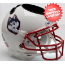 Connecticut Huskies Miniature Football Helmet Desk Caddy <B>White Husky</B>
