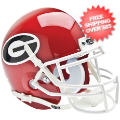 Helmets, Mini Helmets: Georgia Bulldogs Mini XP Authentic Helmet Schutt